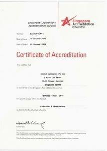 SAC Certificate