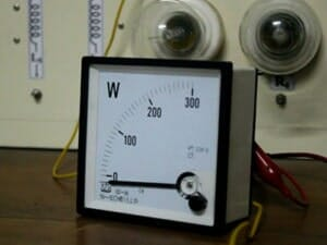 Watt Meter Calibration